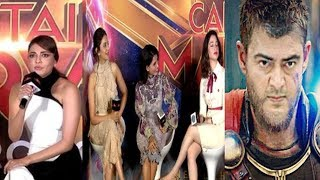 Ajith is the best for Thor character -  Kajal agrawal , samantha ,tamanna funny chat