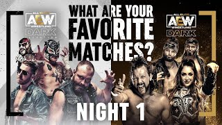 Night 1: What are your Favorite AEW Dark & Elevation Matches? Over 3 Hours of Action! | 10/13/21