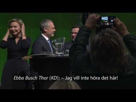 """Jan Björklund sexskämtar på Centerns kommundagar  – Ebba Busch Thor: """"Jag vill inte höra!"""" - Nyheter"""