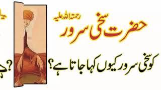 hazrat sakhi sarwar lalan wali sarkar r a ko sakhi sarwar kiu kaha jata hy by golden tips youtube