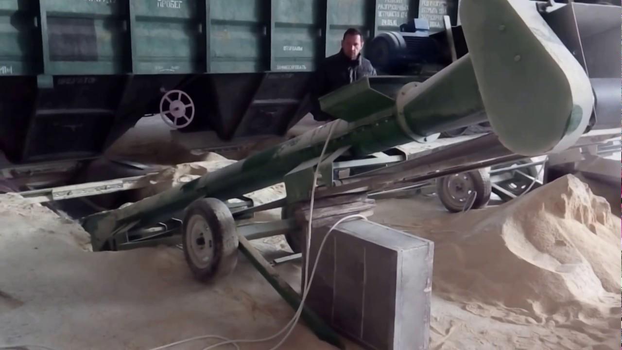 Конвейер для разгрузки вагонов гидравлическое сцепление транспортер т4