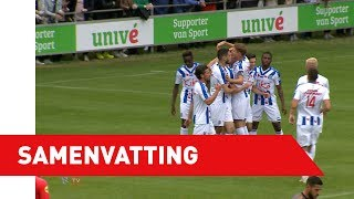 Samenvatting sc Heerenveen - KV Mechelen (oefenwedstrijd)