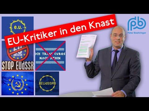 Gefängnis für EU-Verunglimpfung: EUliten lassen Kritik strafrechtlich verfolgen! – Boehringer KT 87