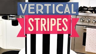 Learn the secrets to applying perfectly straight vertical zebra str...
