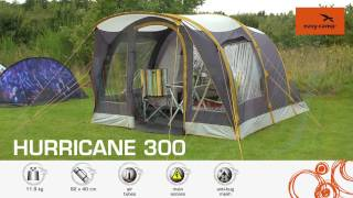 One Size Grey Easy Camp Unisexs Hurricane 300 Air Tent