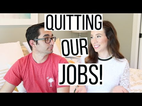 QUITTING OUR JOBS AND BECOMING ENTREPRENEURS | Hayley Paige