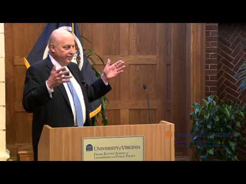 Ambassador John Negroponte Speaks at the Batten School