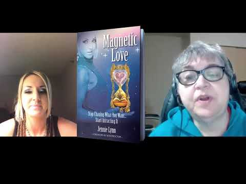 Jennie Lynne's new book, Magnetic Love with Bonnie Dillabough