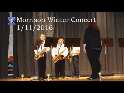 Morrison School - Winter Concert 2016