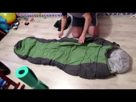 Распаковка спальника Trek Planet DAKAR из Розетки