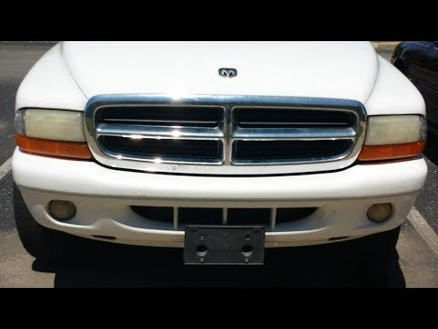 Dodge Durango Headlight Change--Easy! Same for many years