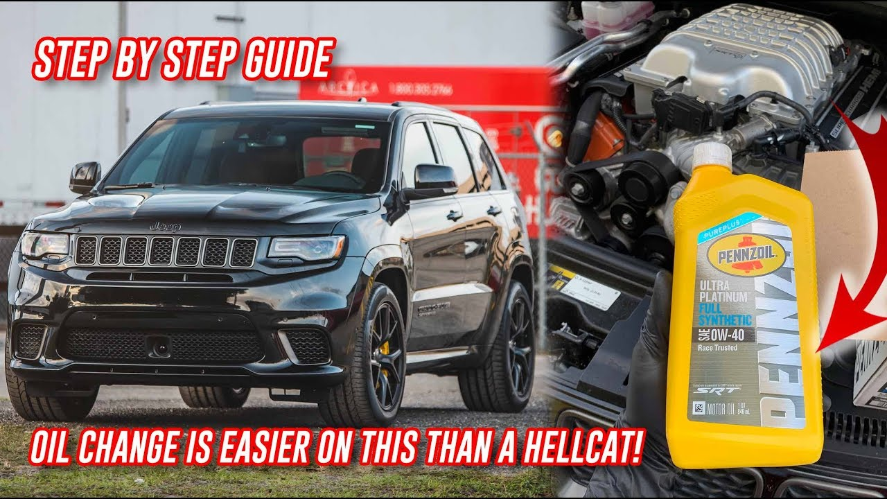 How To Do A Oil Change On A Jeep Trackhawk In Under 5 Minutes