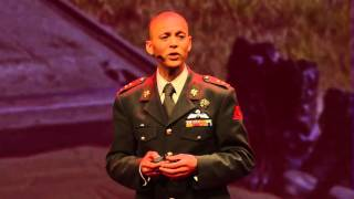 The military is uniform, but it also allows you to be who you are | Lt Col Mostafa Hilali | TEDxKMA