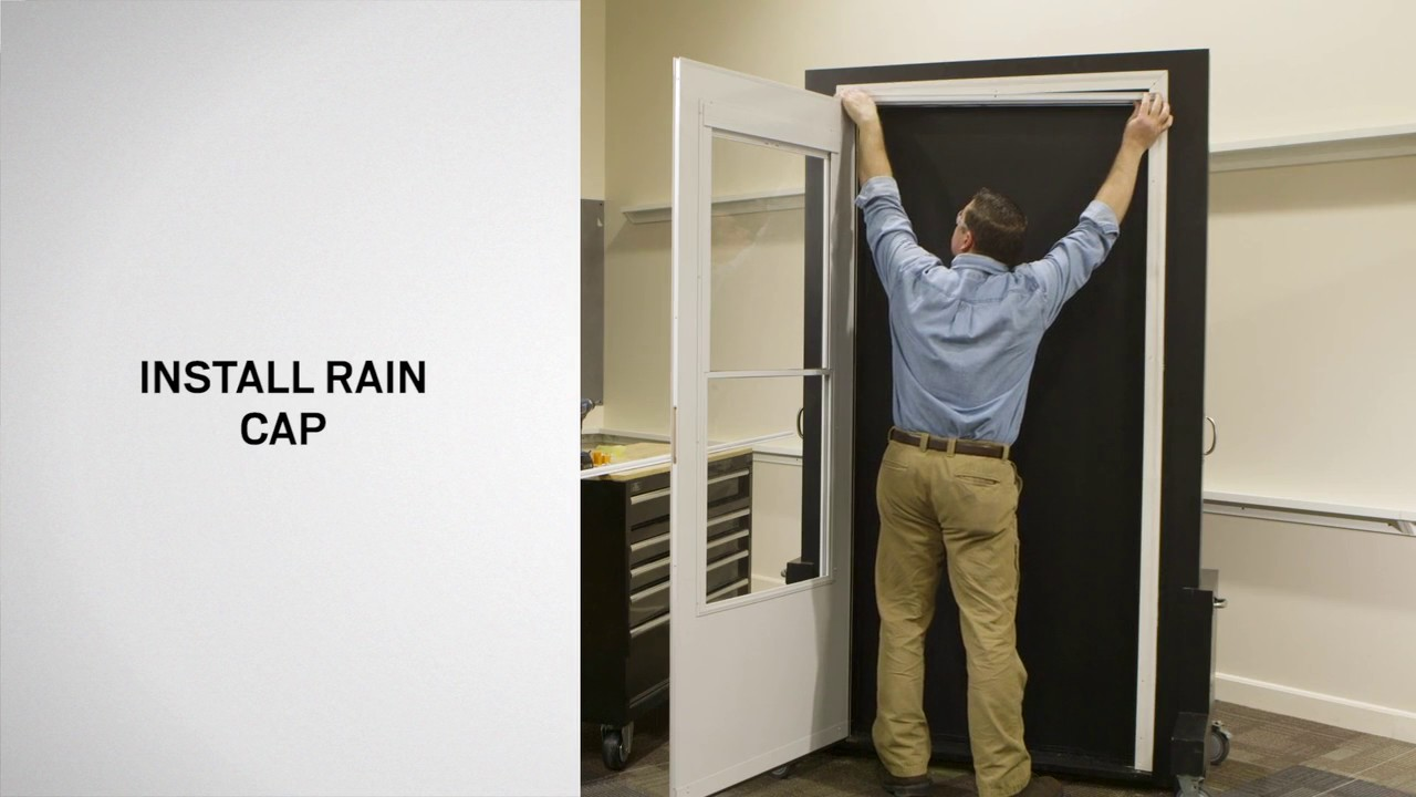 How To Install Storm Doors With The 2 Hour Easy