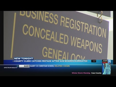 Kent Co. clerk: 'Holes' in the new CPL process