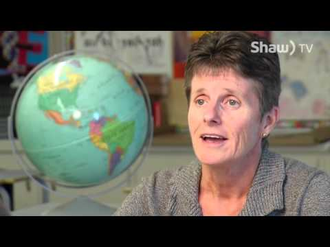 Award Winning Teacher on Shaw TV