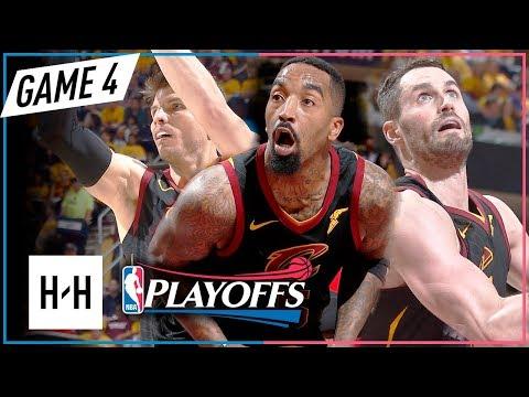 Kevin Love, JR Smith & Kyle Korver Full Game 4 Highlights vs Raptors 2018 Playoffs ECSF - TOO EASY!