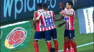 Nacional vs. Junior (2-3)   Liga Aguila 2019-1   Cuadrangulares Fecha 6