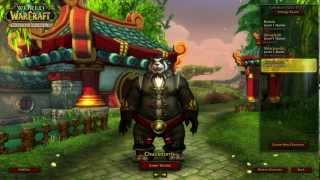 One of MercaderGaming's most viewed videos: Mists of Pandaria - Pandaren Monk Gameplay (LIVE Commentary) Part 1