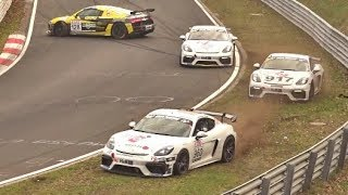Nürburgring Highlights, CRASHES, Action 23 03 2019 VLN 1 Nordschleife