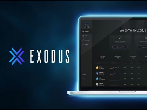 How To Download And Set Up Your Exodus Wallet On Your PHONE
