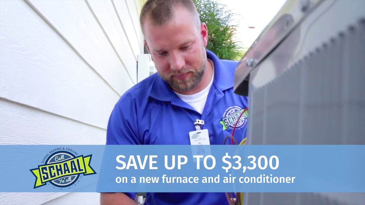 Schaal Heating And Cooling Commercial 10 16 Youtube