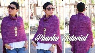 Mimi G for Michael Levine #DIY Poncho Tutorial!