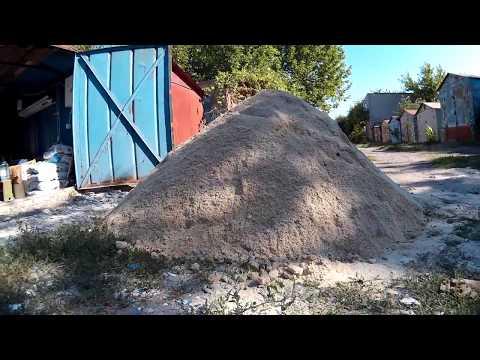 Как перевести м3 в тонны песок