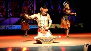 Iban Warrior Dance Ngajat Pahlawan