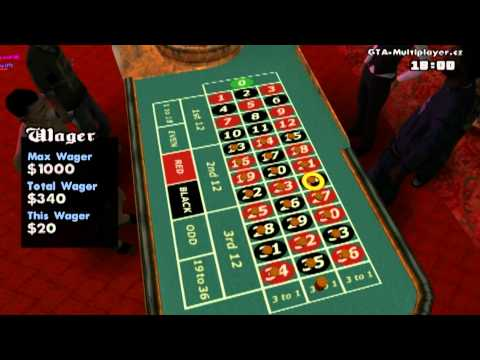 Roulette & Slot machines in SA-MP