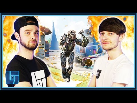 Ali-A Vs Waglington - COD BO3 : Boss Battle | Legends of Gaming