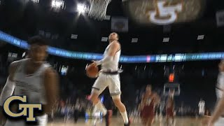 Check out georgia tech's evan cole dazzle the crowd with a nasty windmill slam dunk in this acc must see moment! subscribe: http://bit.ly/oqg3iethe digit...