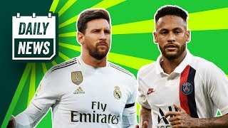 Messi should move to Madrid Barca desperate for Neymar Daily News