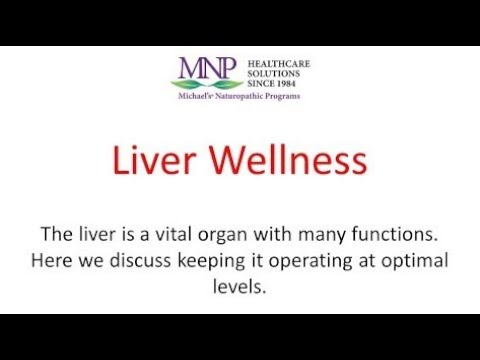Liver Wellness: Detoxification & Cleansing Toxins in Your Body