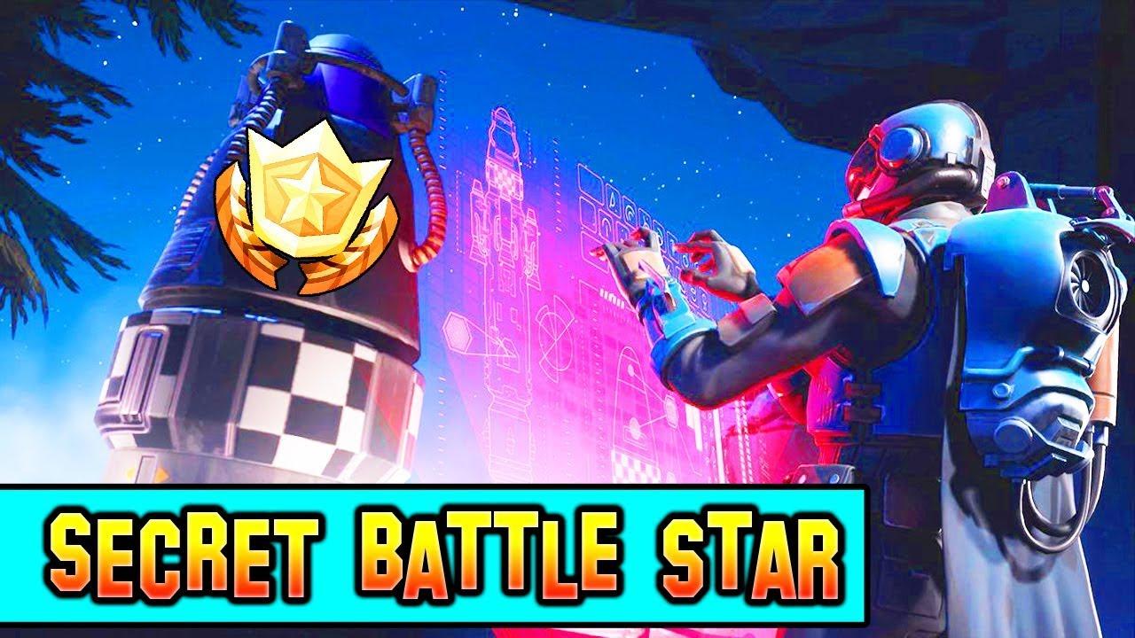 Where Is The Week 8 Secret Battle Star Fortnite Loading Screen