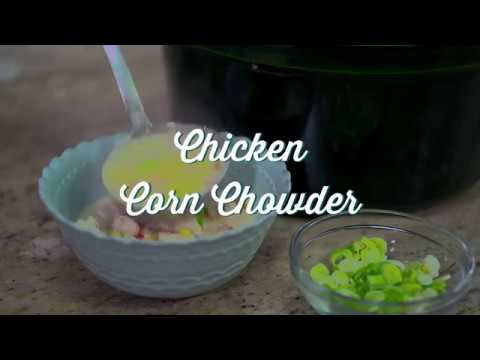 Paula Deen Chicken Corn Chowder At The Southern Table Youtube