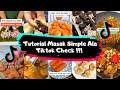 - TUTORIAL MASAK SIMPLE ALA TIKTOK CHECK!!! | part 1