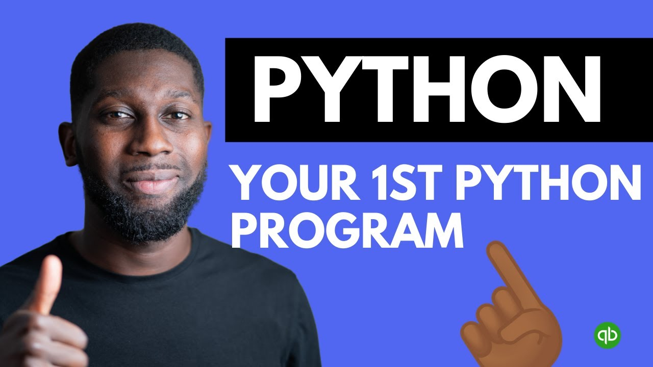 Python Tutorial for Beginners - Your First Python Program