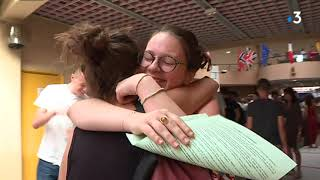 Bac 2019 : entre rires et pleurs, les résultats au lycée Charles-de-Gaulle à Dijon