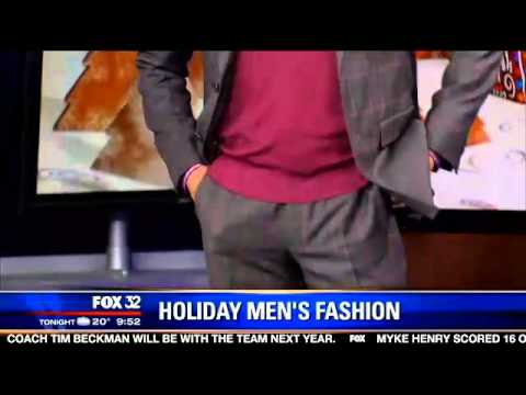 Molise PR Client Syd Jerome Shares Holiday Fashion Tips on FOX Good Day Chicago