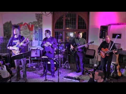 Jam Session im Katzenbusch in Herten mit Opener Five Minds Blues Band