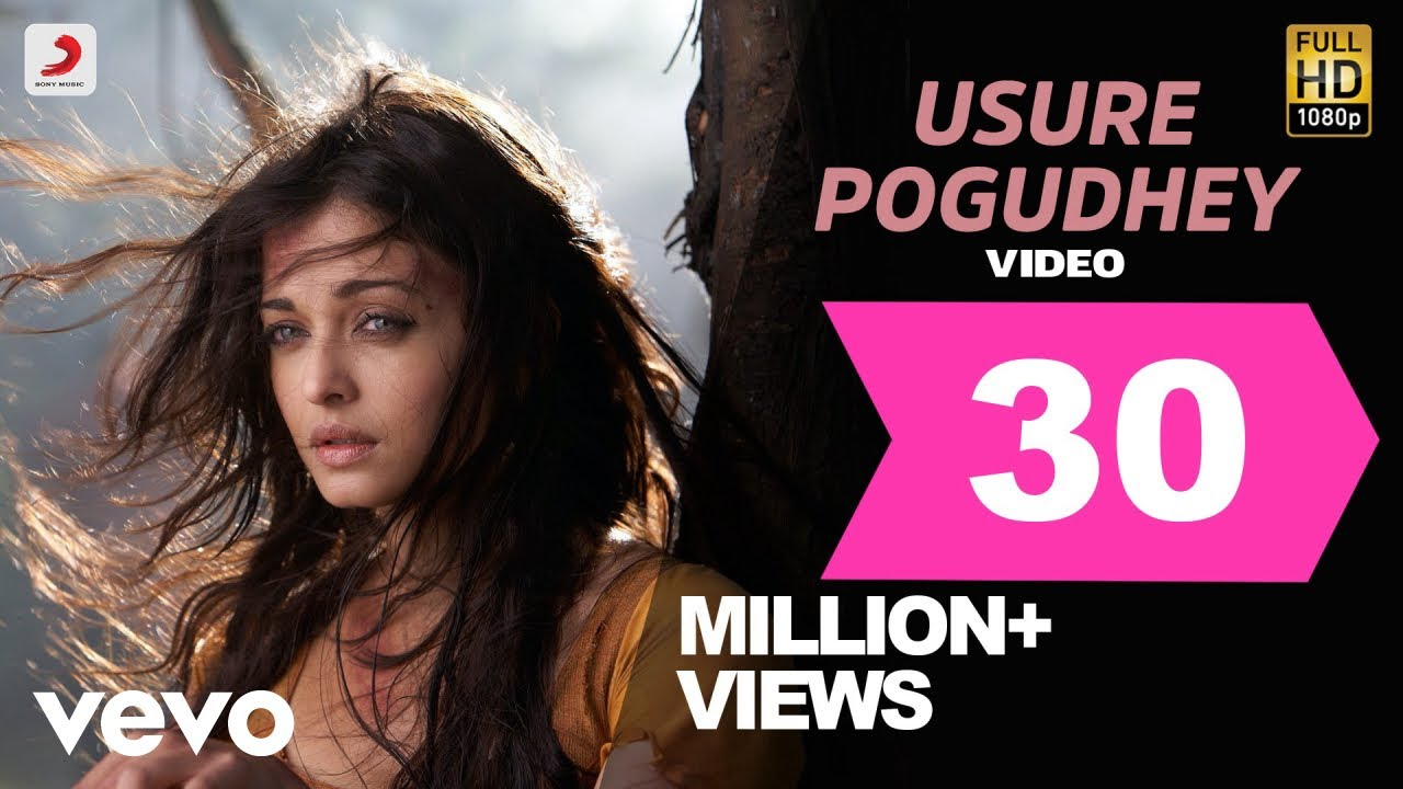 Download Raavanan - Usure Pogudhey Video | A.R. Rahman | Vikram, Aishwarya Rai