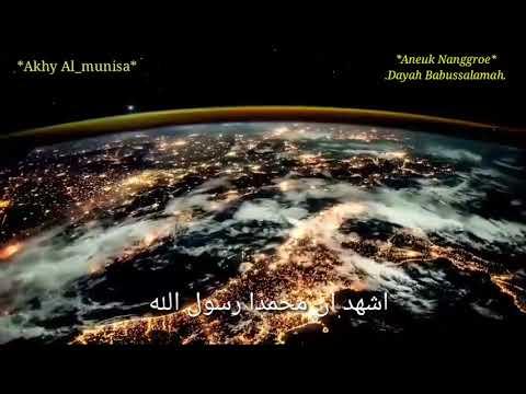 Adzan termerdu di  awal malam waktu isya dari bumi aceh-oleh tgk imam al-fauzan indah banget..