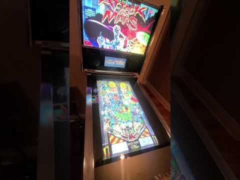 Arcade 1up pinball- attack from mars from Billy & Shelley North
