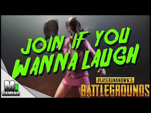Playerunknown's Battlegrounds -  Hilarious voice on helium - PUBG Funny