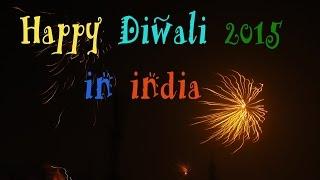 Diwali firework in india New Delhi | Festival of lights | Diwali fireworks video