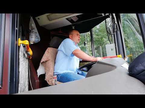 Как экономить топливо на маз 103 автобус. Минск#27