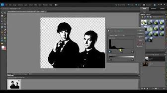 Stencilgram in photoshop - YouTube