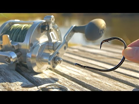 Fishing with GIANT Gear to Catch BIG Fish!