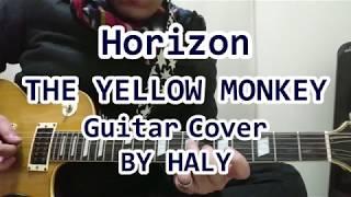 THE YELLOW MONKEY 新曲『Horizon』ギターカバー★HALY★